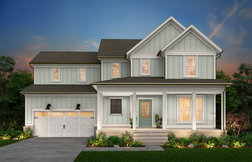 Exterior featured in the Waterstone By John Wieland Homes in Raleigh-Durham-Chapel Hill, NC