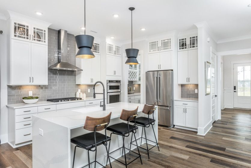 Kitchen featured in the Continental By John Wieland Homes in Raleigh-Durham-Chapel Hill, NC