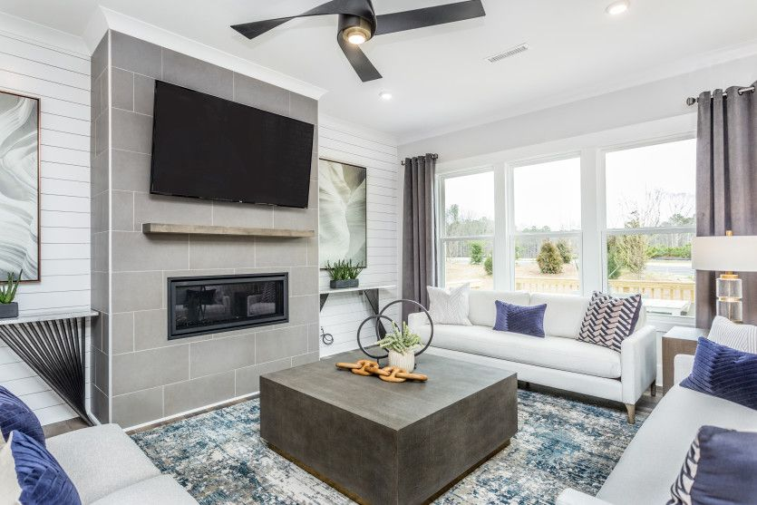 Living Area featured in the Continental By John Wieland Homes in Raleigh-Durham-Chapel Hill, NC