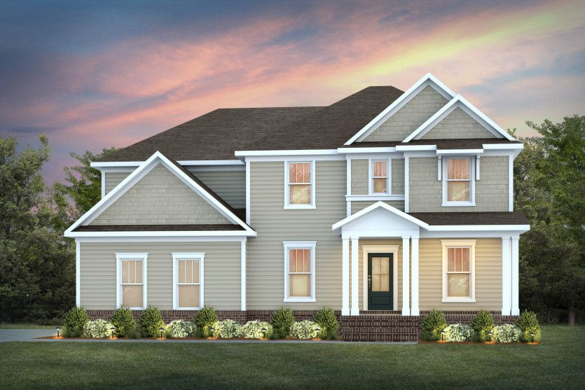 Exterior featured in the Melrose By John Wieland Homes in Raleigh-Durham-Chapel Hill, NC