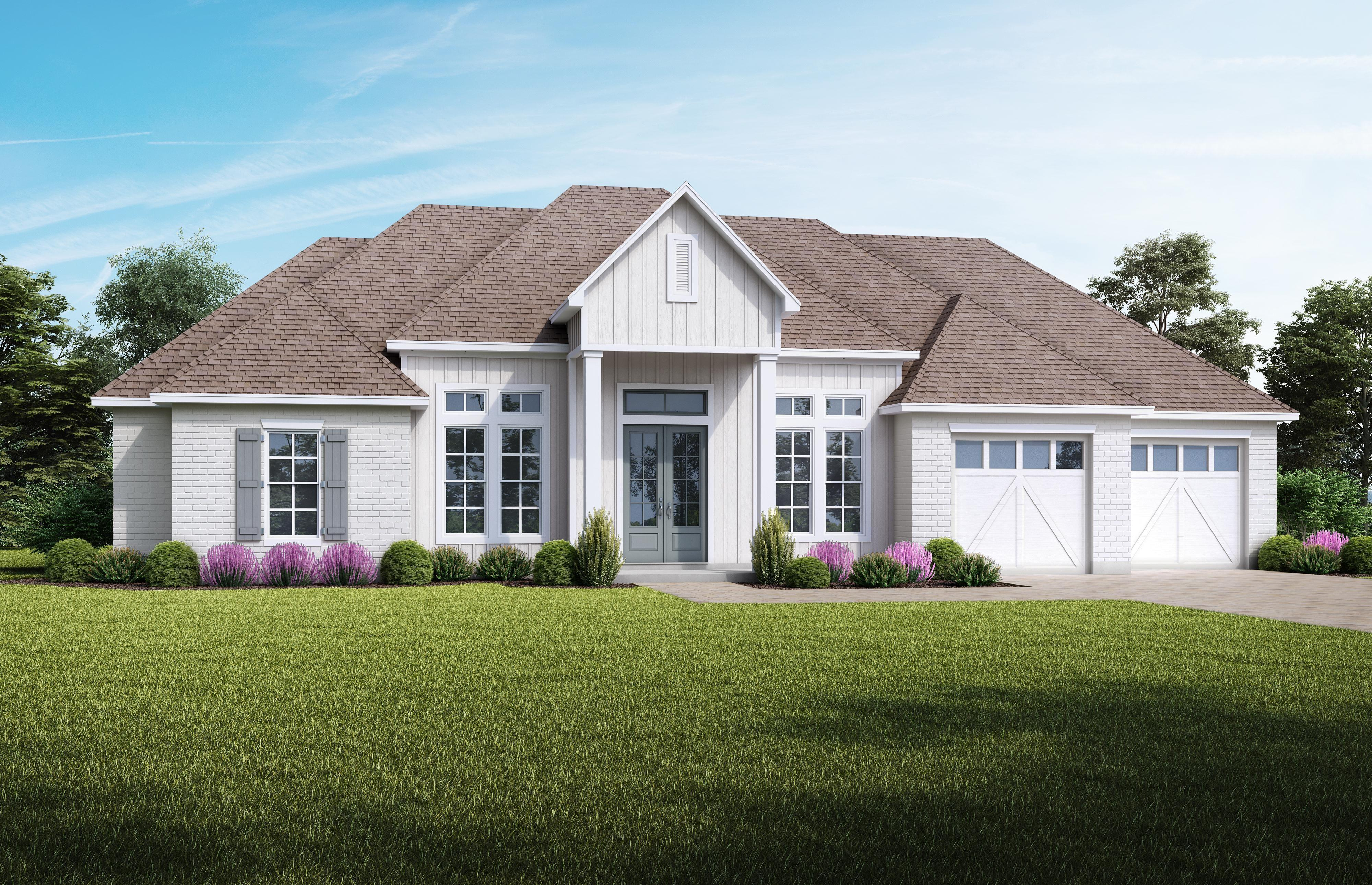 Exterior featured in the AUDUBON-AH65 By Audubon Homes in New Orleans, LA