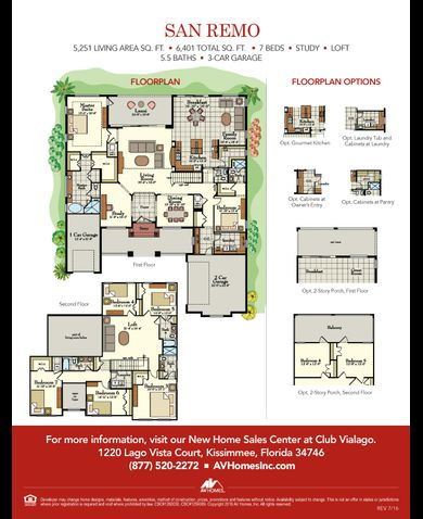 San remo floor plan mi homes meze blog Michigan home builders floor plans