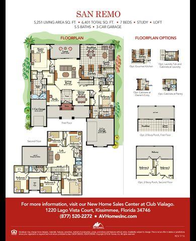 San remo floor plan mi homes meze blog Michigan home builders floor plans