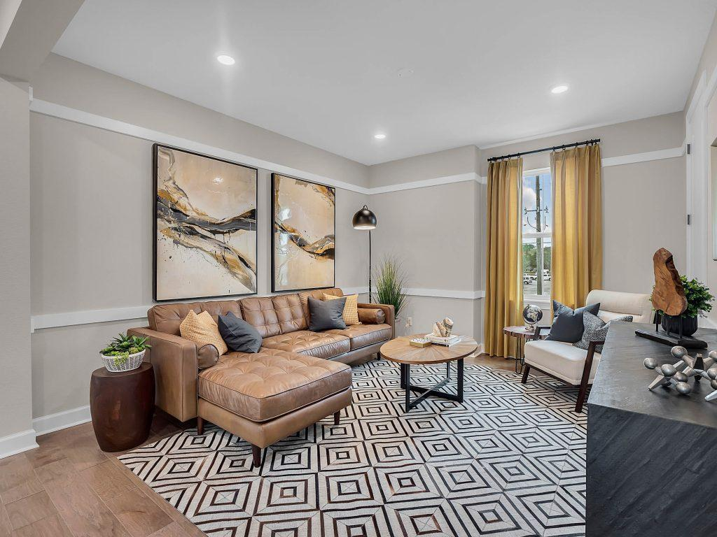 Living Area featured in the Bristol By Avex in Orlando, FL