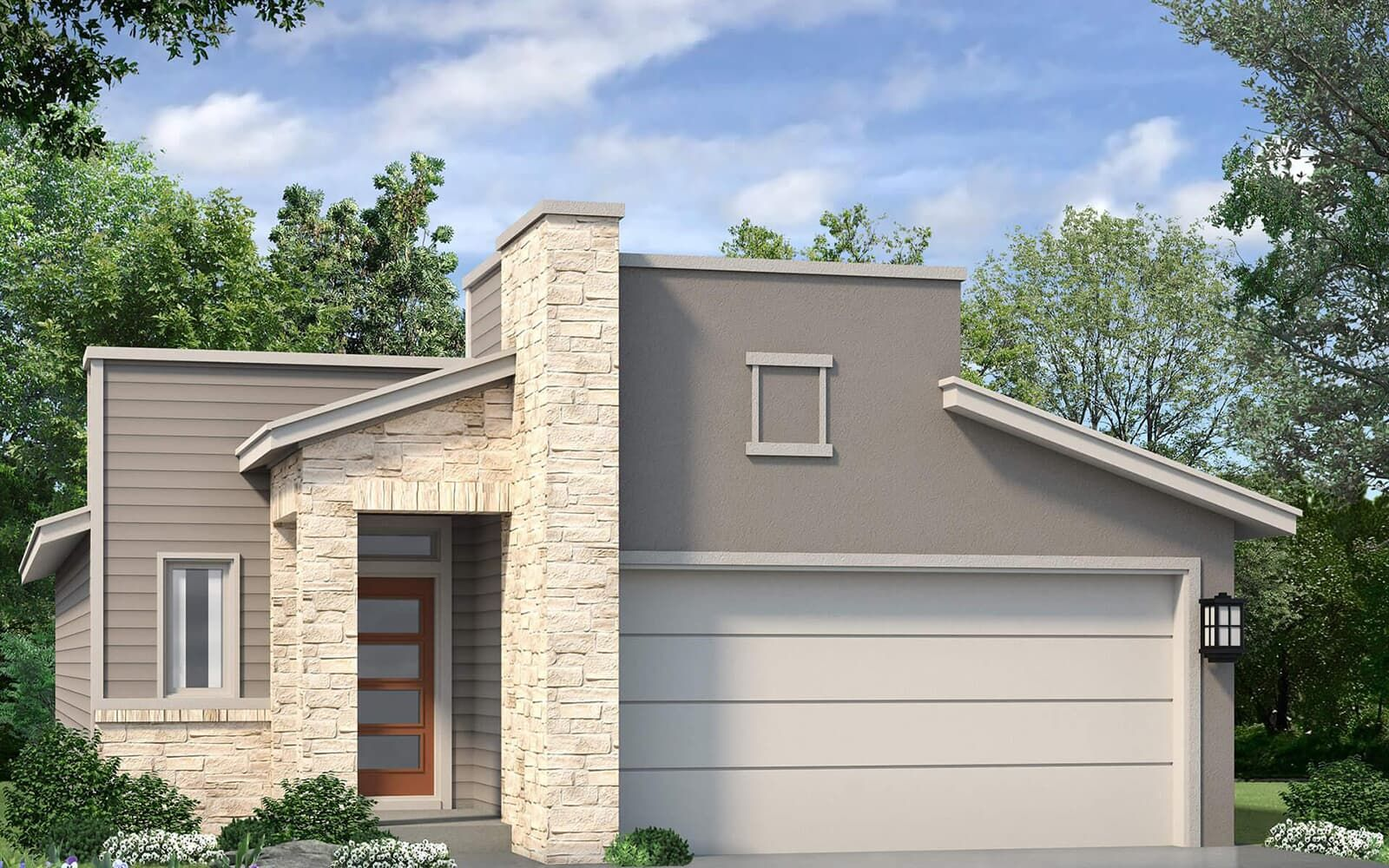 Exterior featured in the Oakwood By Brookfield Residential in Austin, TX