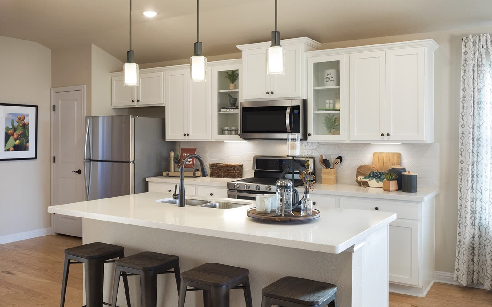 Kitchen featured in the Oakwood By Brookfield Residential in Austin, TX