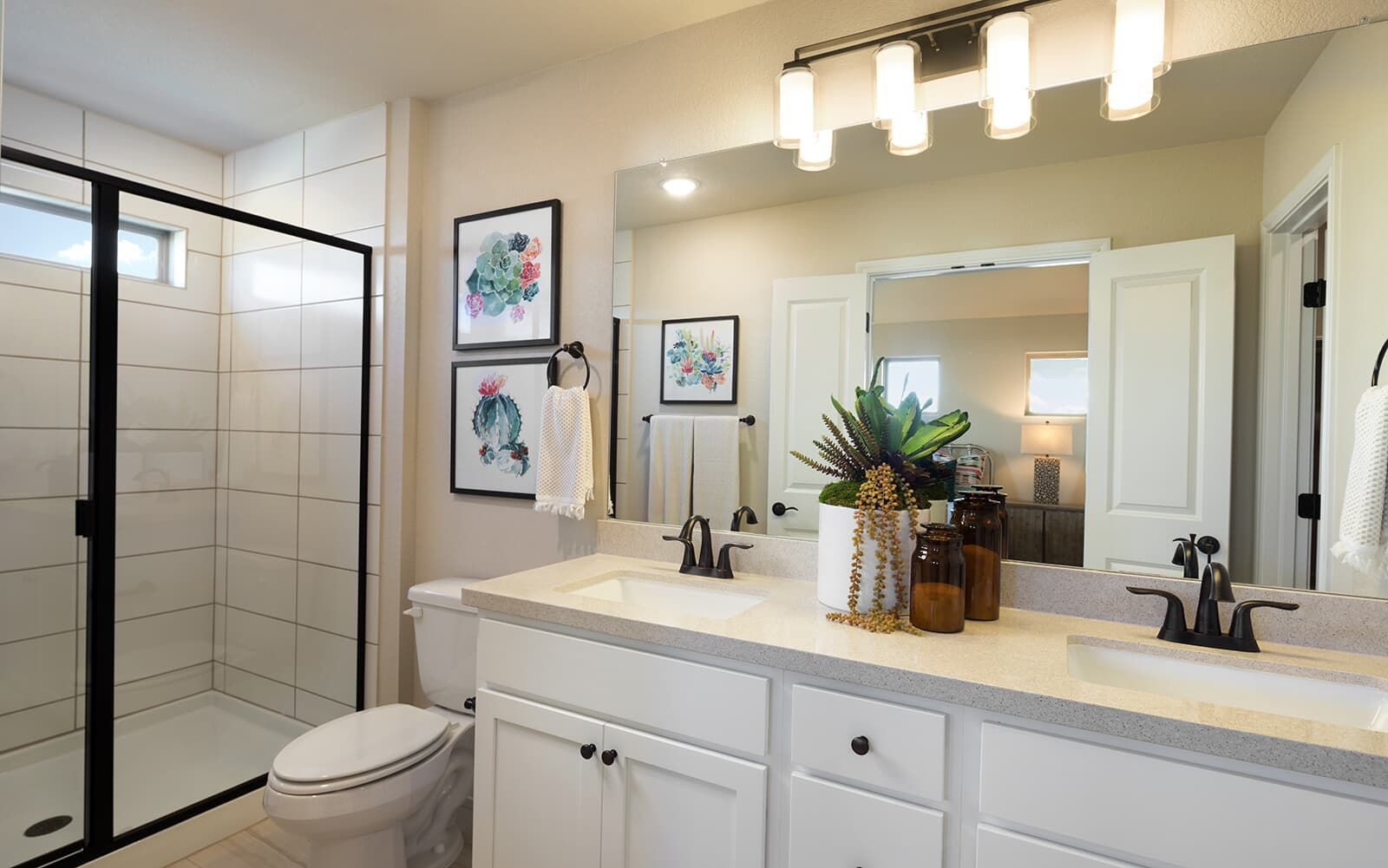 Bathroom featured in the Oakwood By Brookfield Residential in Austin, TX