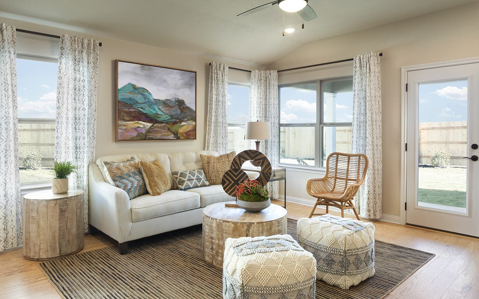 Living Area featured in the Oakwood By Brookfield Residential in Austin, TX