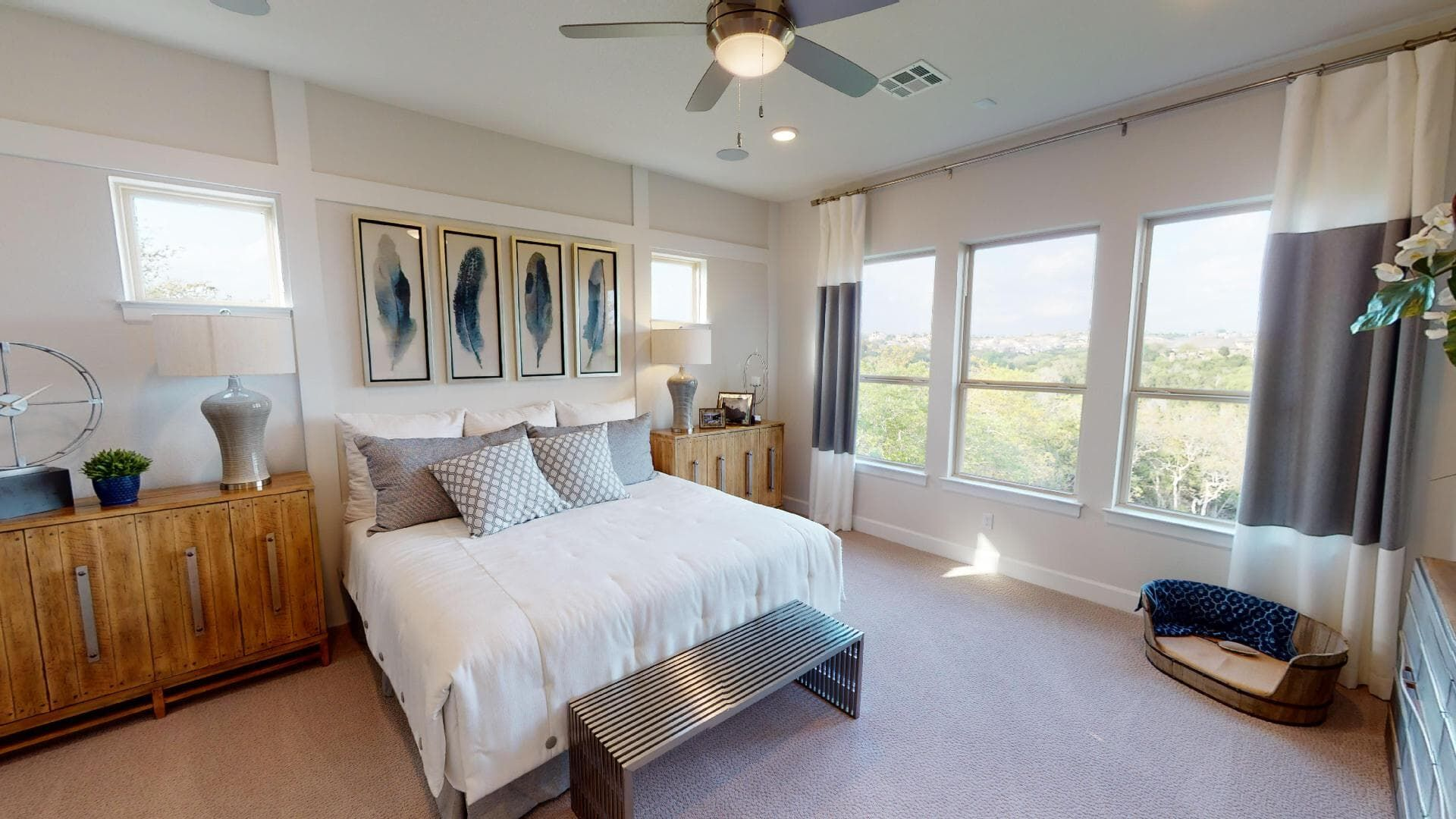 Bedroom featured in the Rollins By Brookfield Residential in Austin, TX