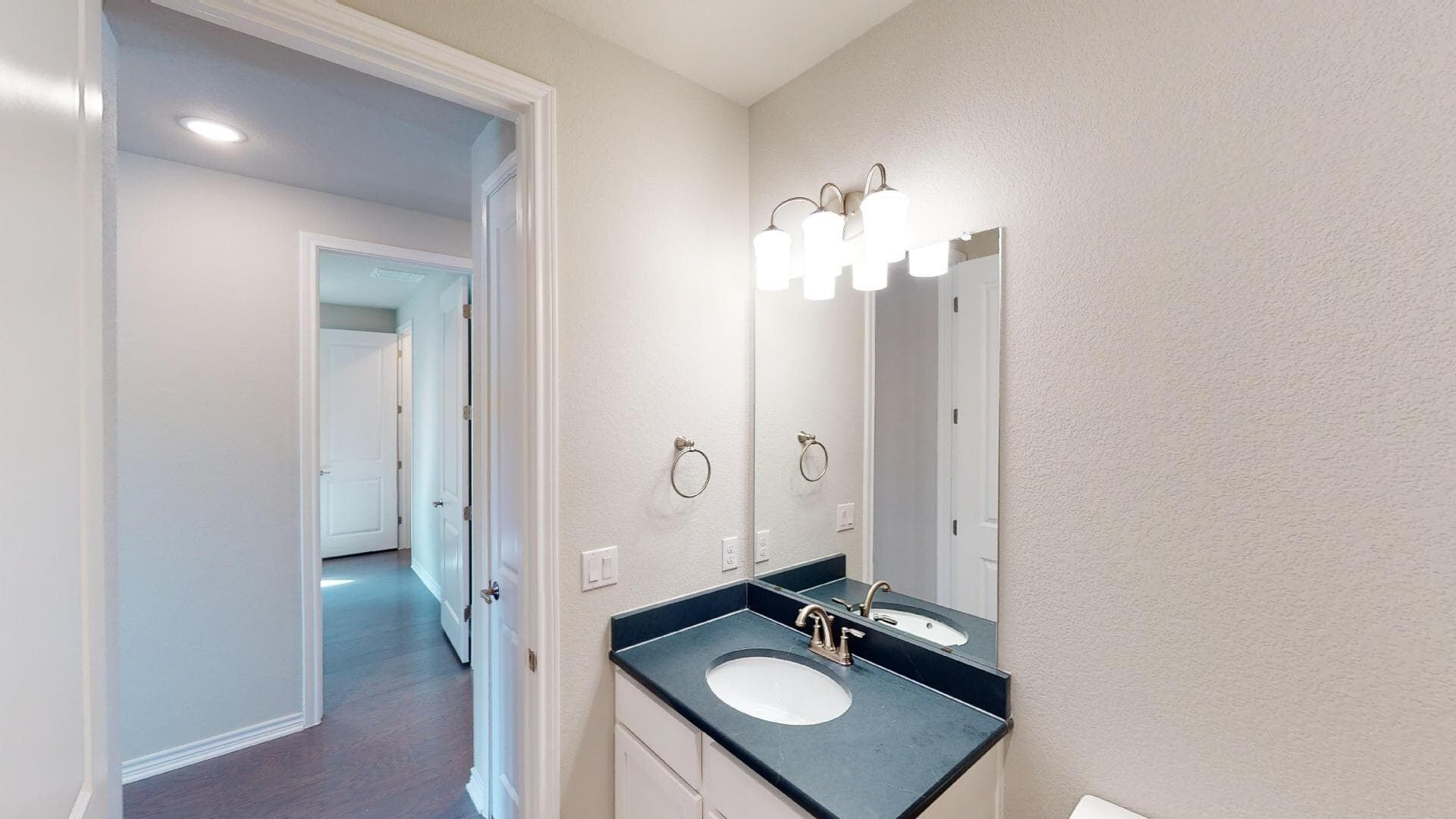 Bathroom featured in the Galvez By Brookfield Residential in Austin, TX
