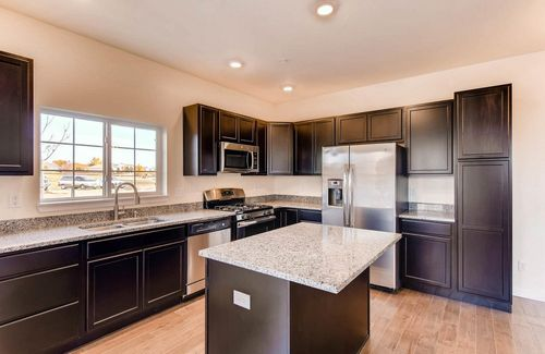 Kitchen-in-Ash-at-Riverdale Park Townhomes-in-Thornton