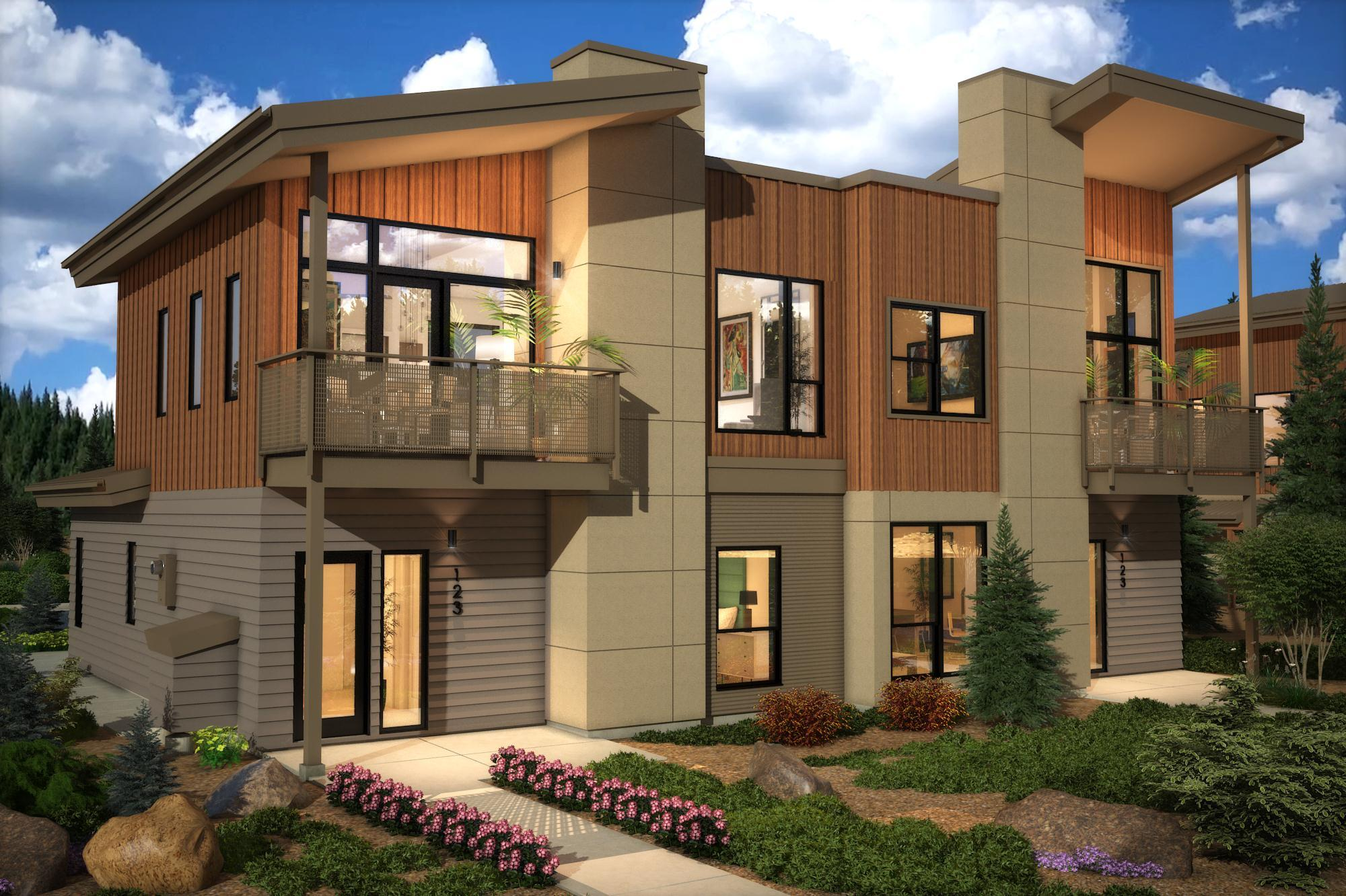 Exterior featured in the Luna By Elements at Coldstream in Reno, CA