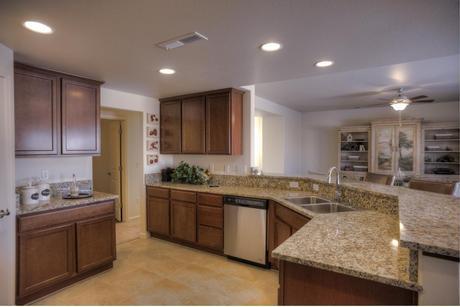 Kitchen-in-McKinley-at-Silverland Estates-in-Fernley