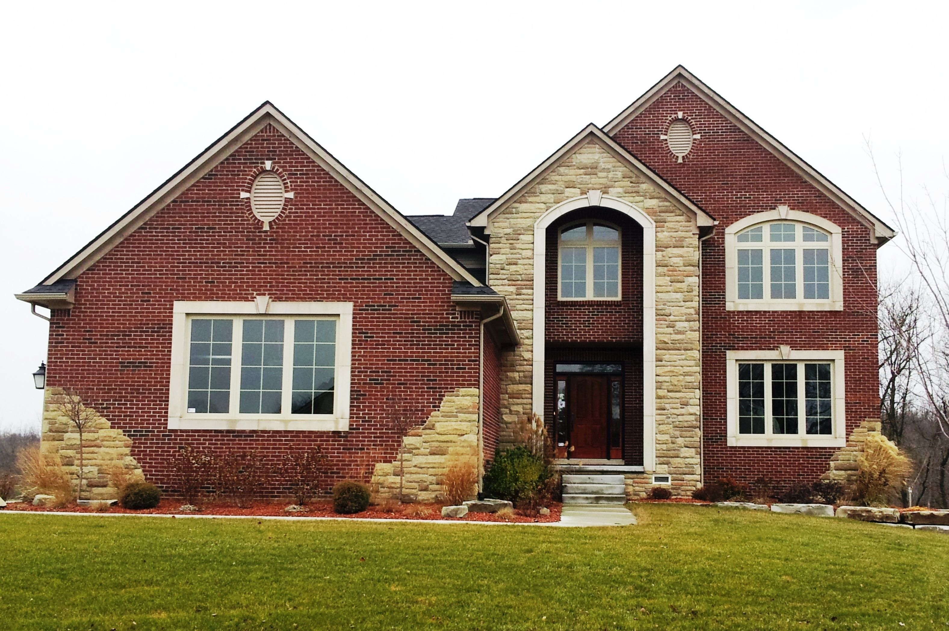 Exterior featured in The Farrier 4 Bedroom By Babcock Homes in Detroit, MI