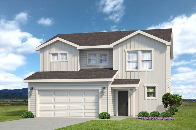 Weston 505A - Farmhouse Elevation - Example
