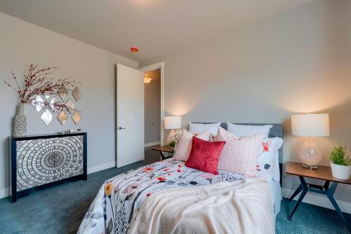 Bedroom-in-The Pienza-at-Conestoga-in-Ault