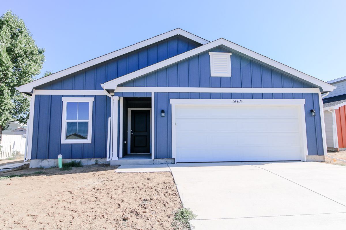 Exterior featured in the Del Norte By Baessler Homes in Greeley, CO
