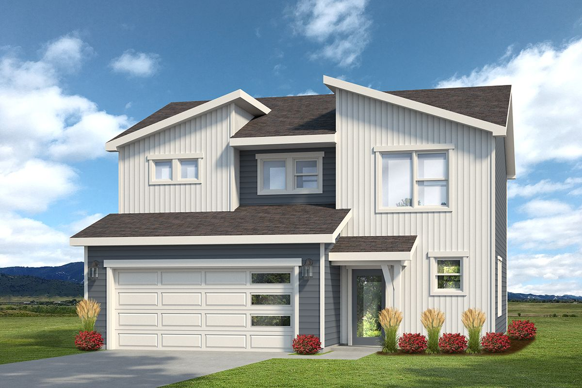 Exterior featured in the Weston By Baessler Homes in Greeley, CO