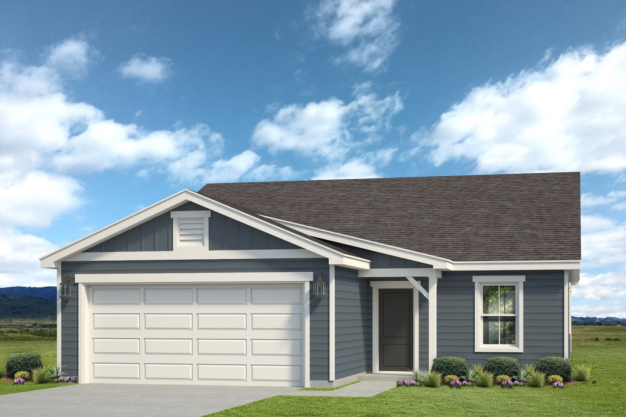 Exterior featured in the Bristol By Baessler Homes in Greeley, CO