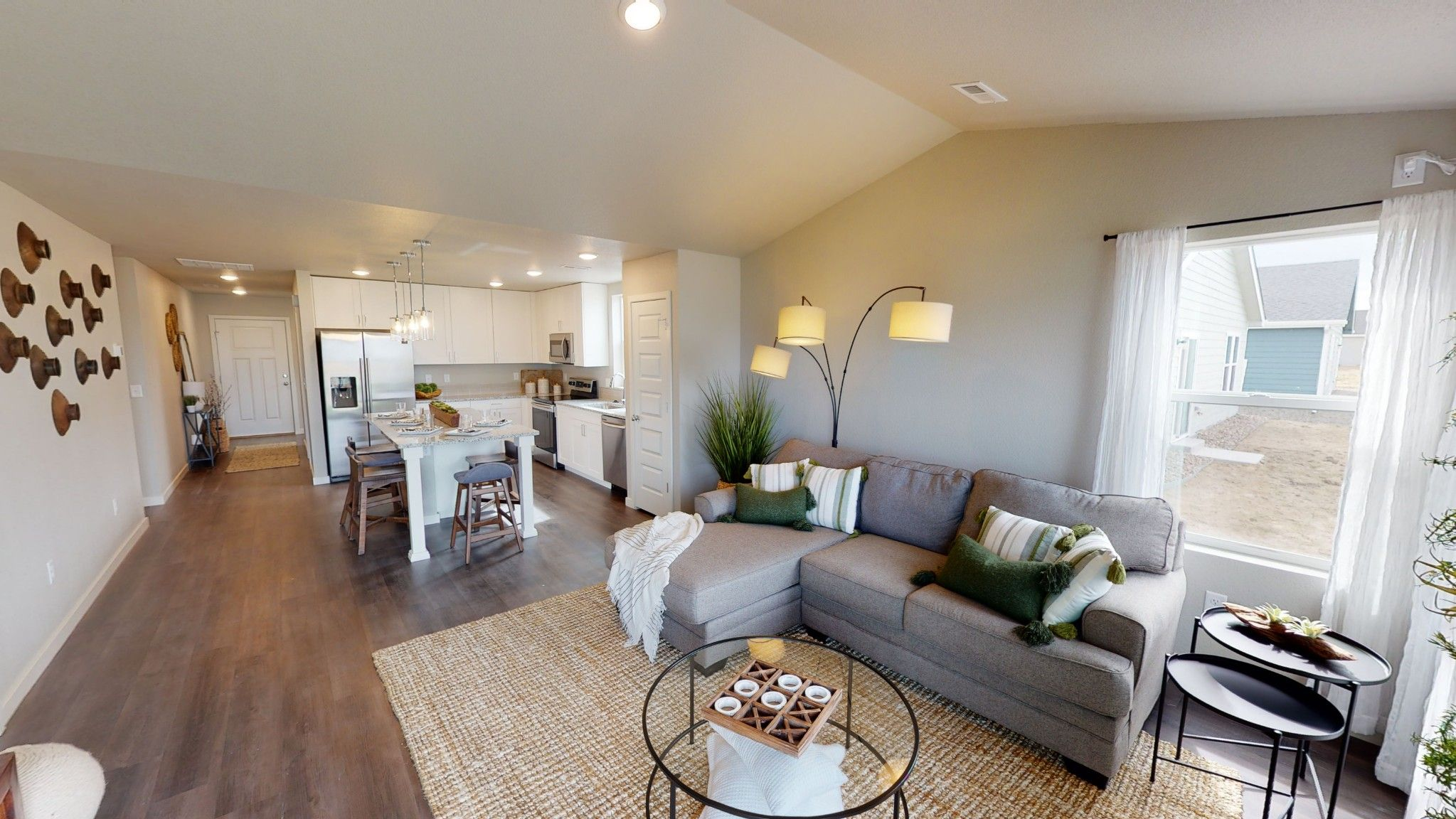 Living Area featured in the Bristol By Baessler Homes in Greeley, CO