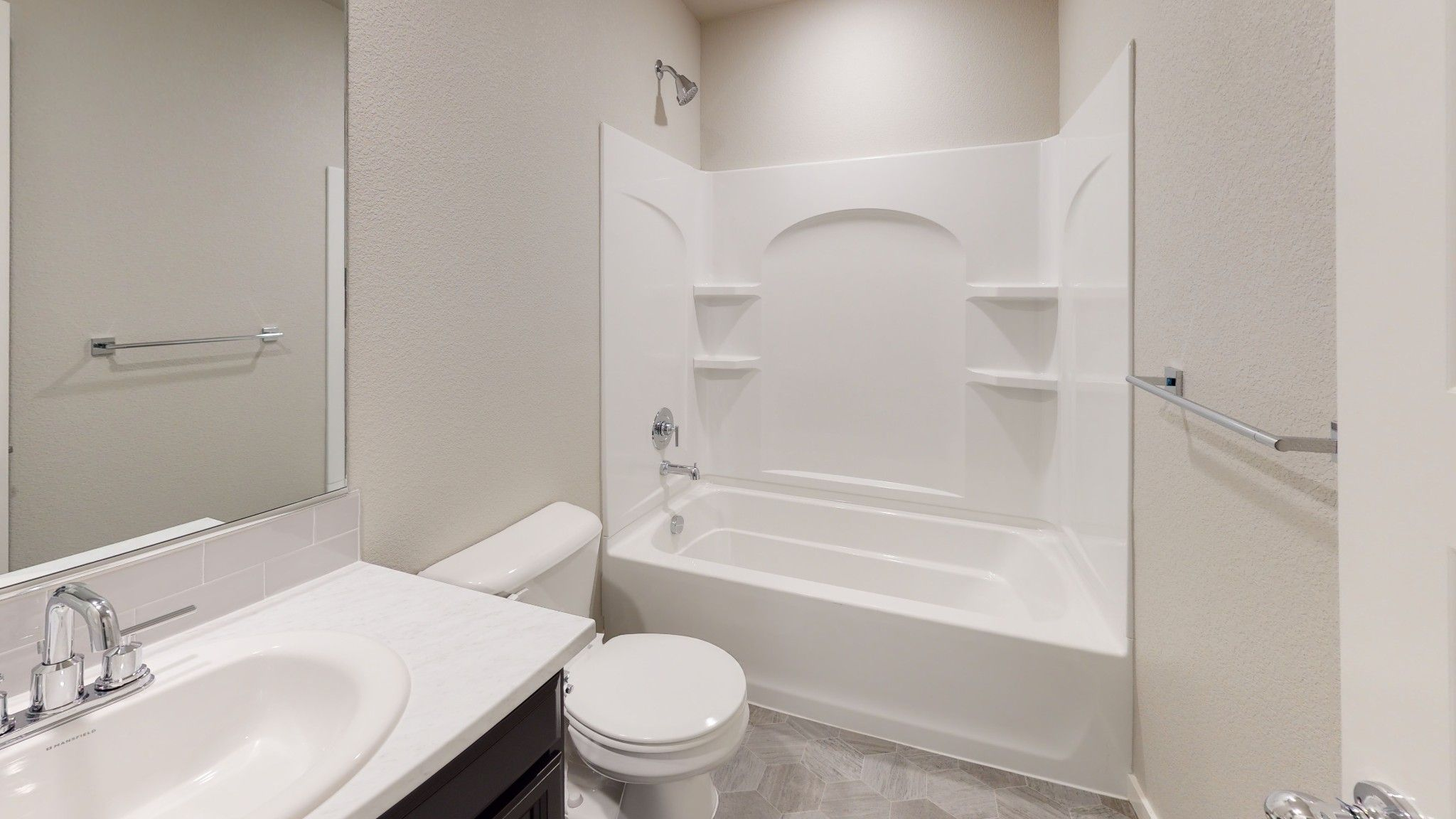 Bathroom featured in the Del Norte By Baessler Homes in Greeley, CO