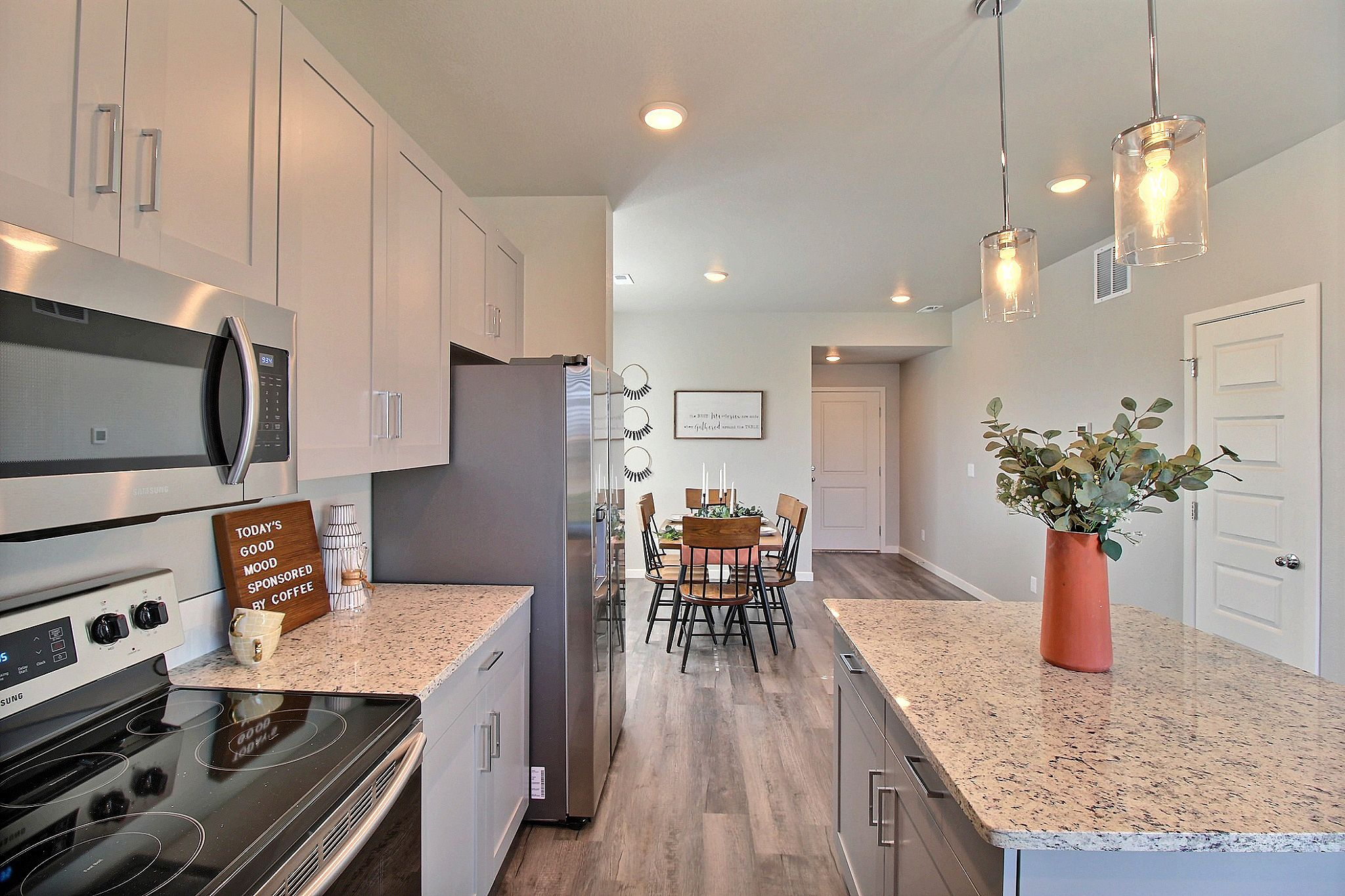Kitchen featured in the Weston By Baessler Homes in Greeley, CO
