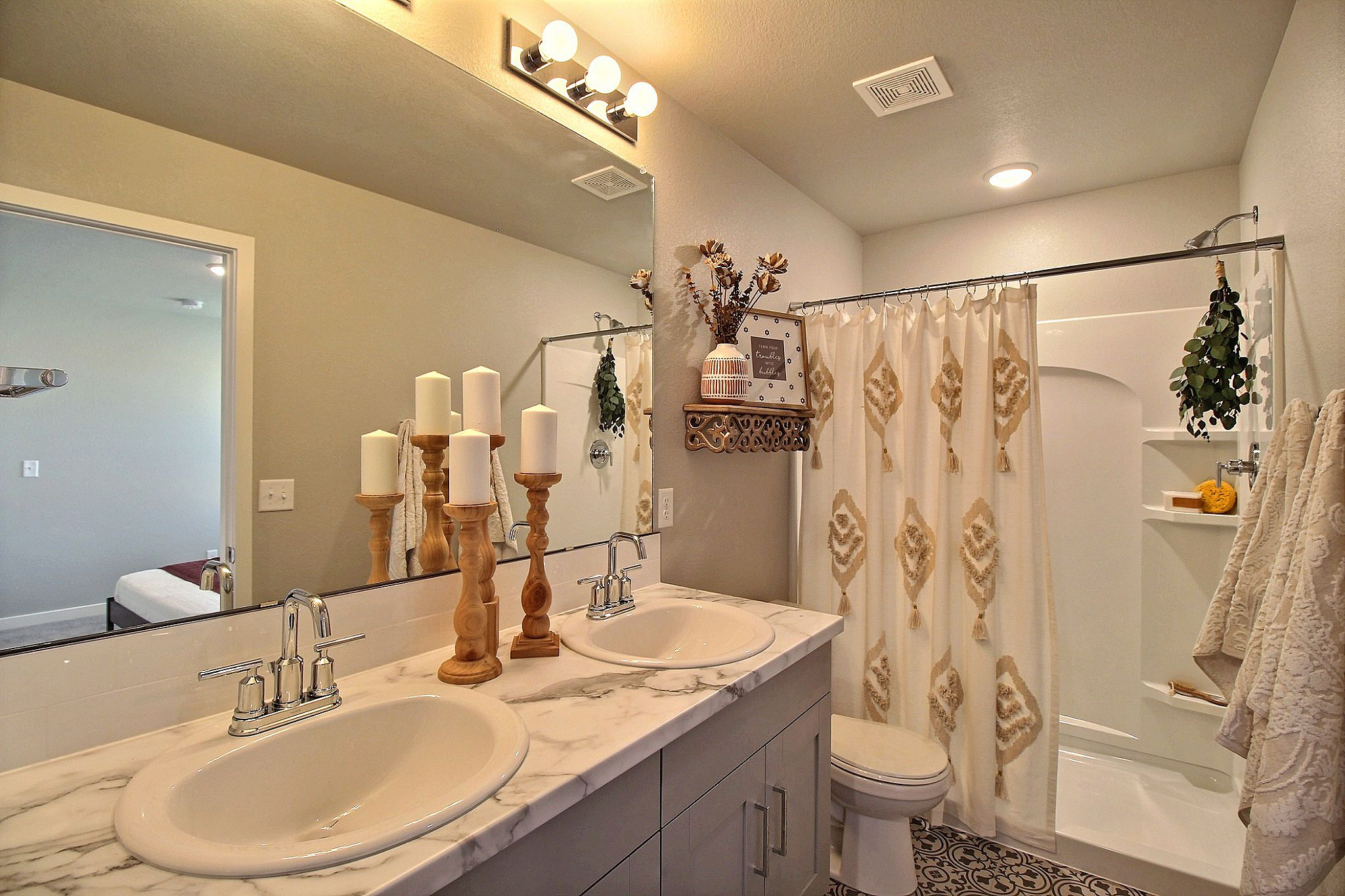 Bathroom featured in the Weston By Baessler Homes in Greeley, CO