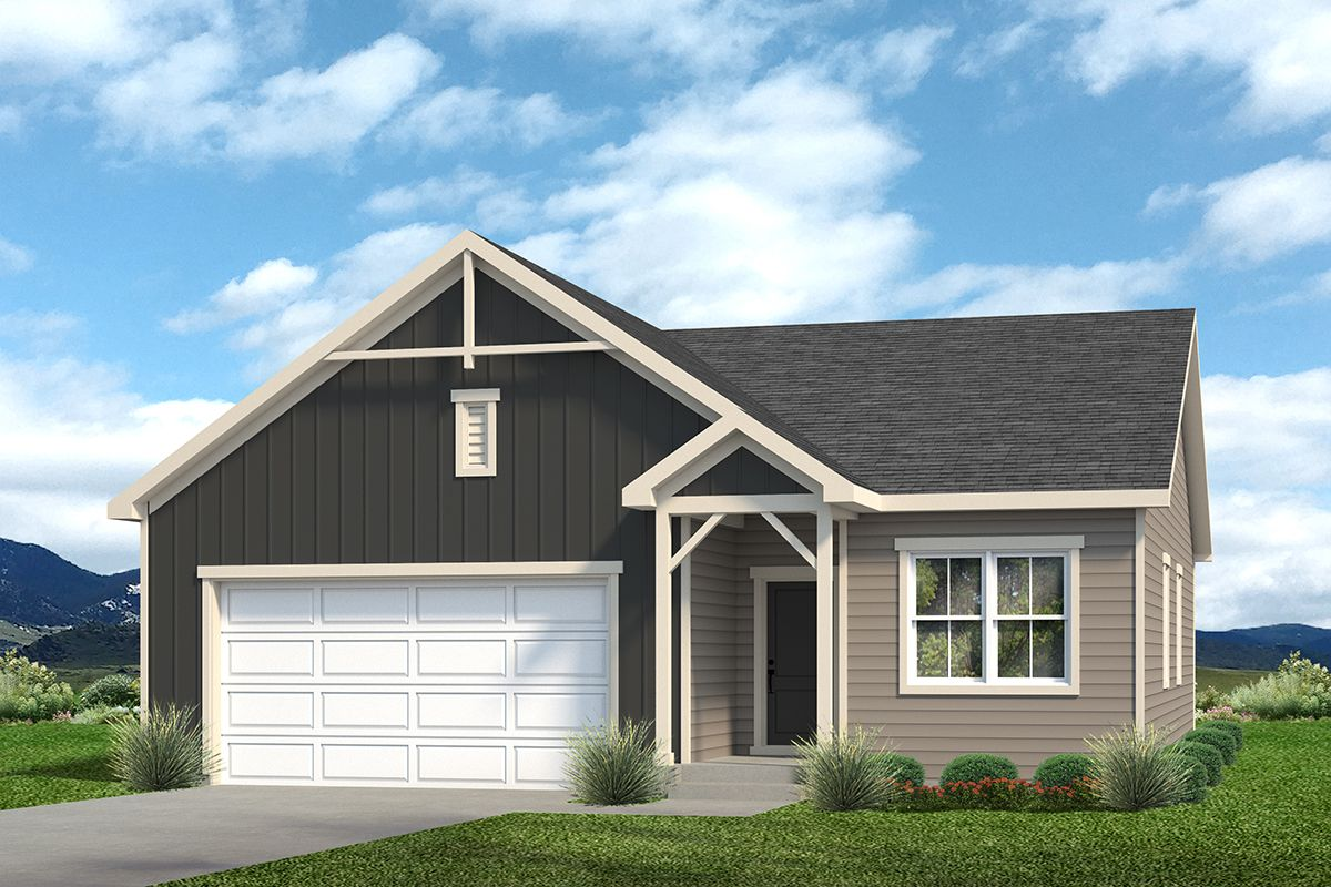 Exterior featured in the Holly By Baessler Homes in Greeley, CO