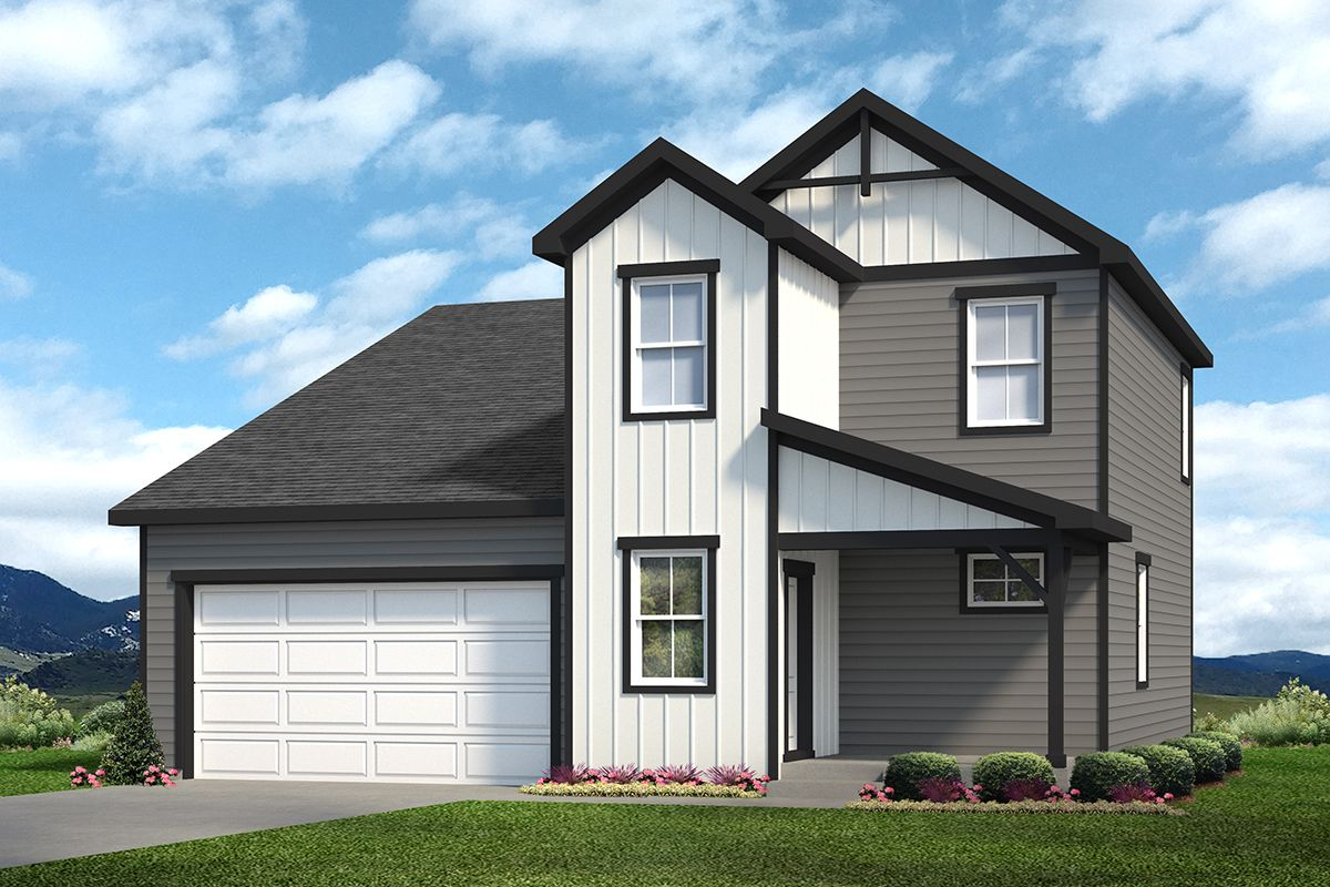 Exterior featured in the Stonewall By Baessler Homes in Greeley, CO