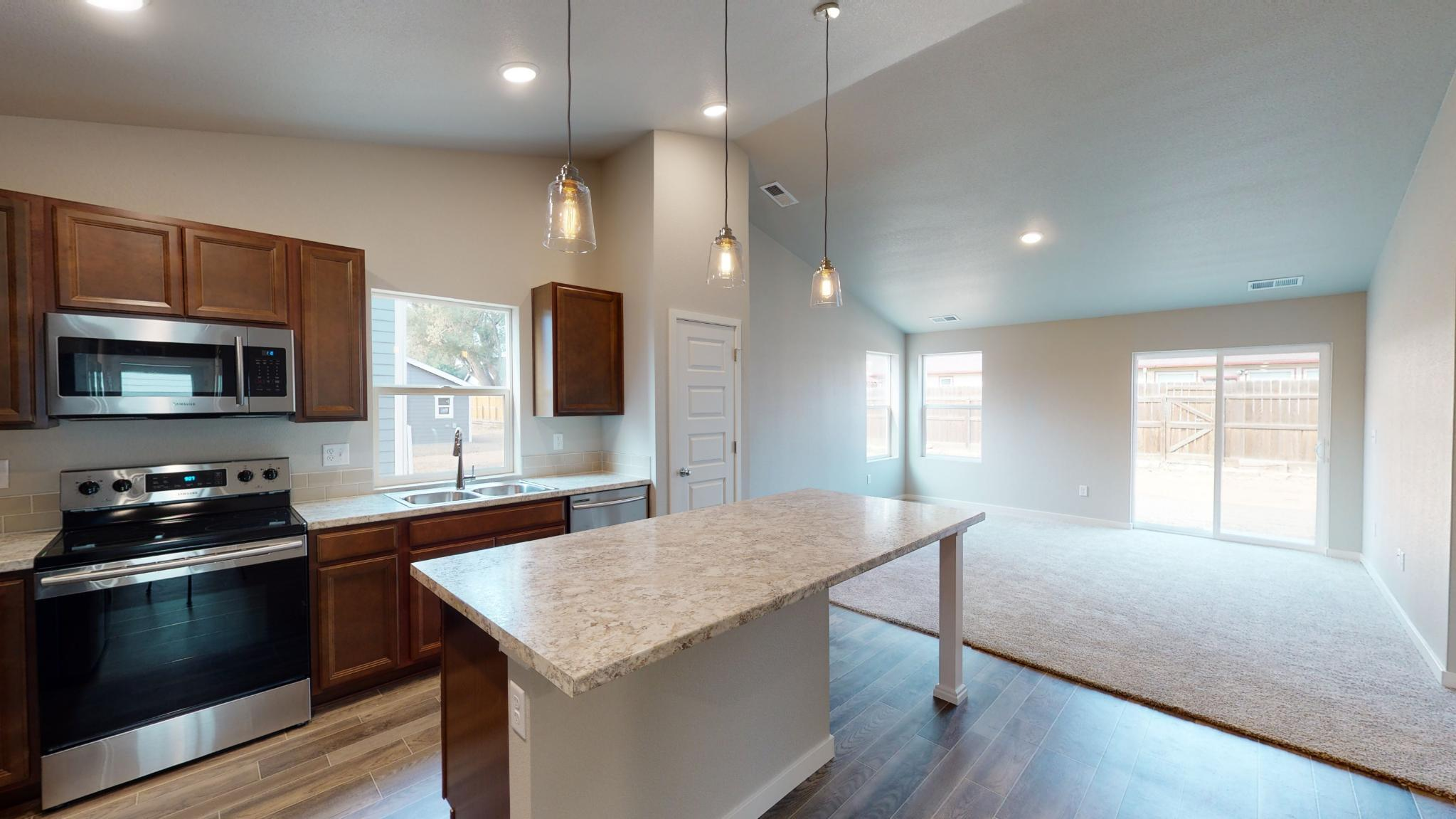 Kitchen featured in the Bristol By Baessler Homes in Greeley, CO
