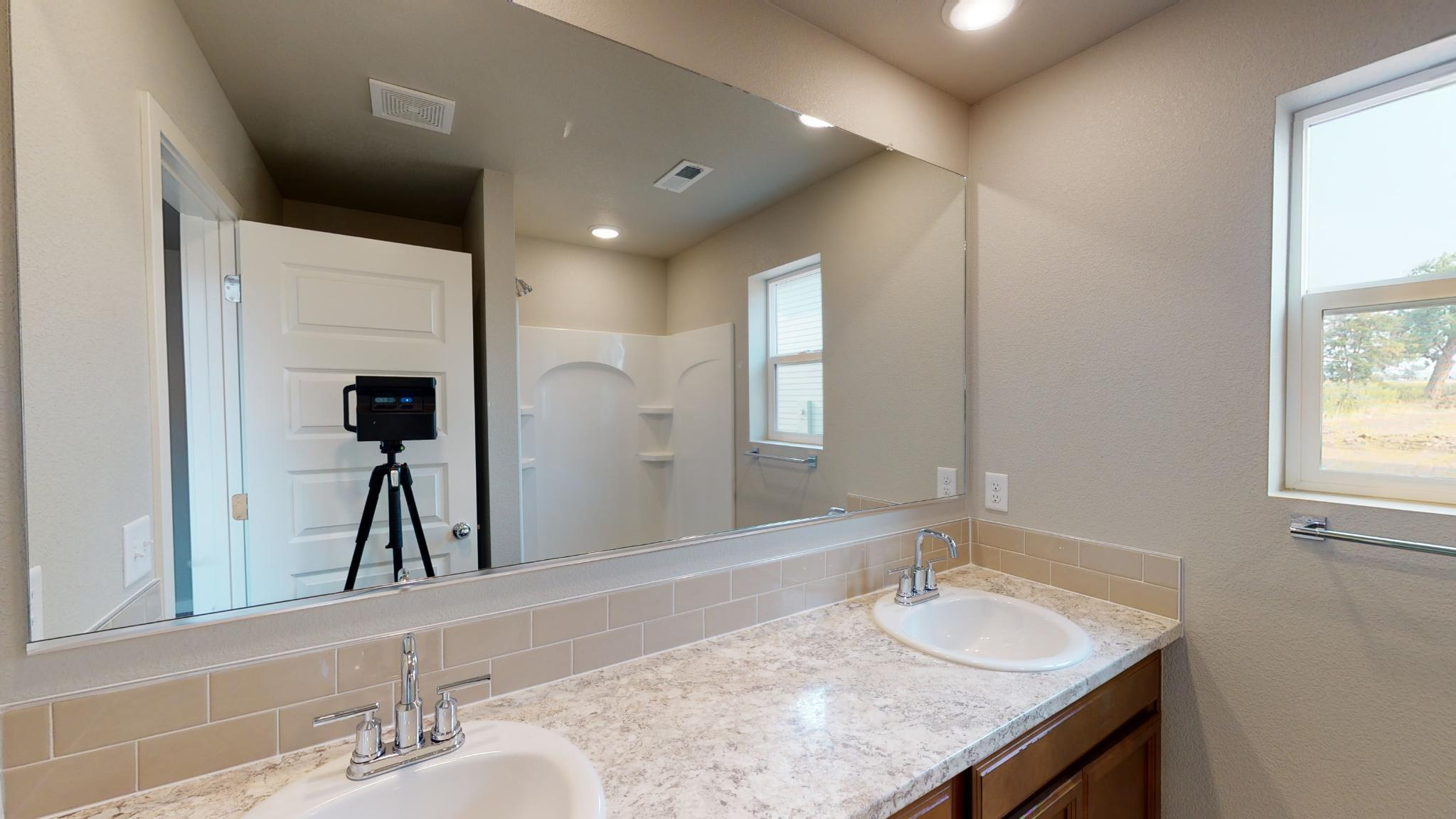 Bathroom featured in the Bristol By Baessler Homes in Greeley, CO