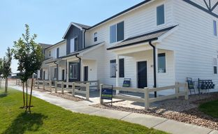 Conestoga Townhomes by Baessler Homes in Greeley Colorado