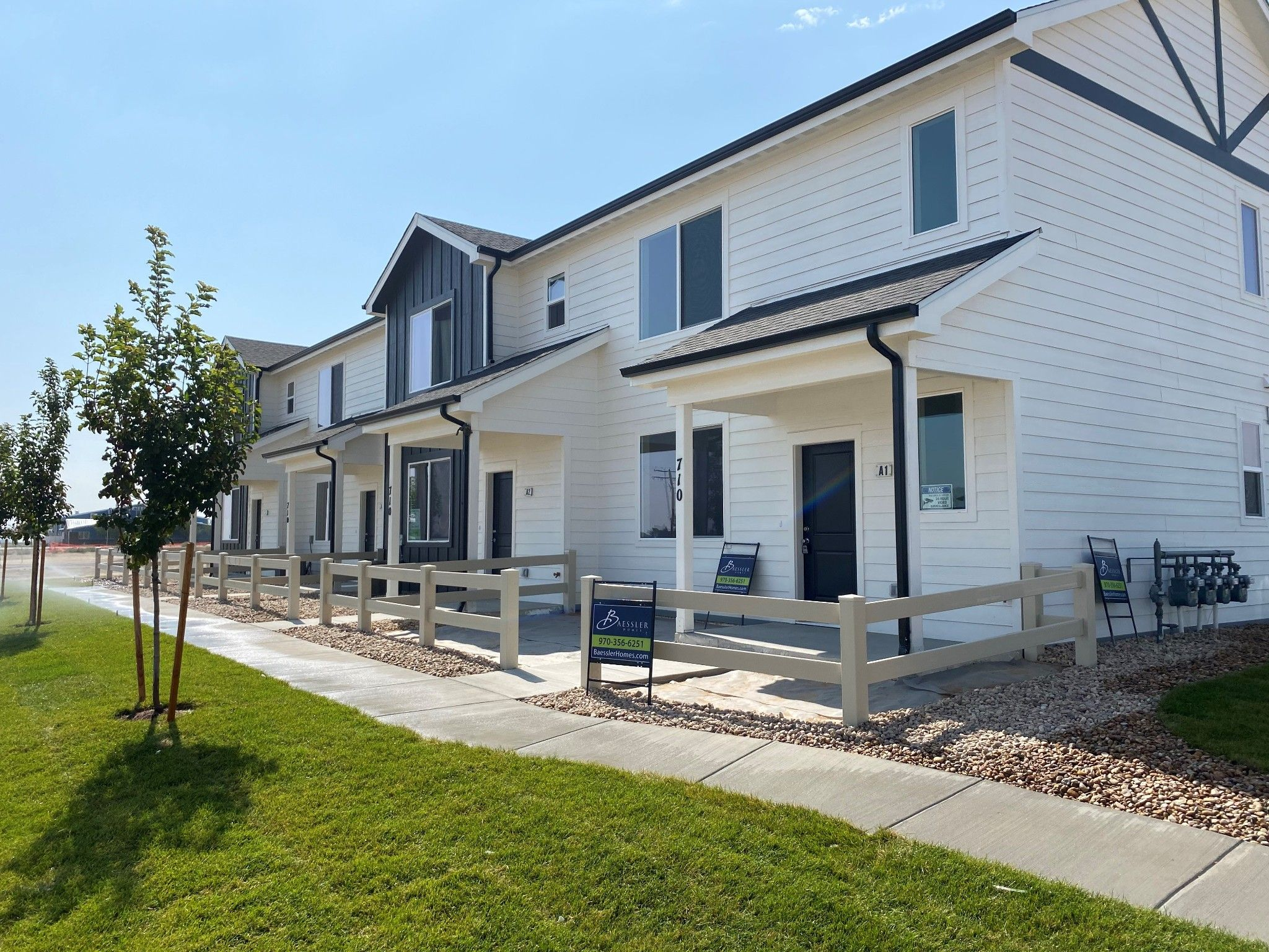 Exterior featured in the Westcliffe By Baessler Homes in Greeley, CO