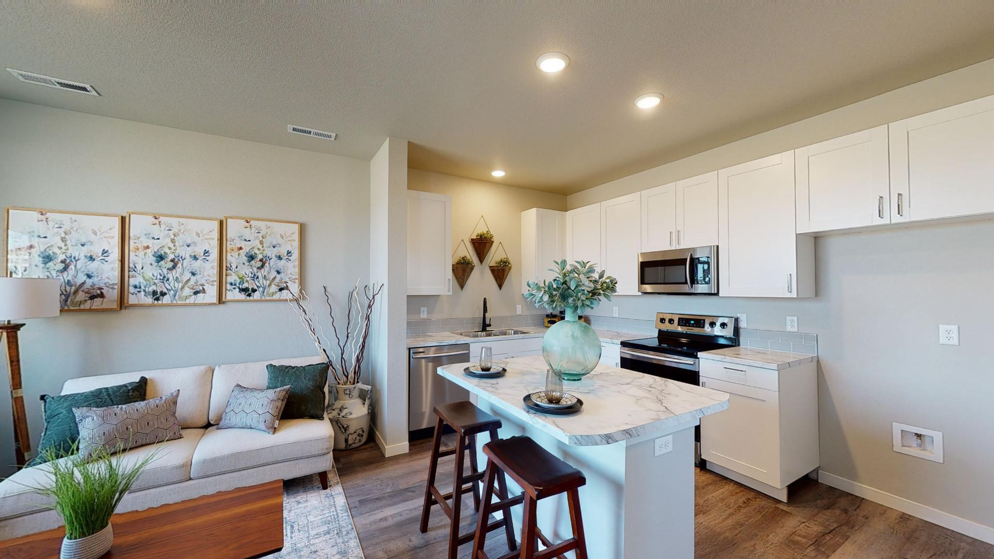 Kitchen featured in the Westcliffe By Baessler Homes in Greeley, CO