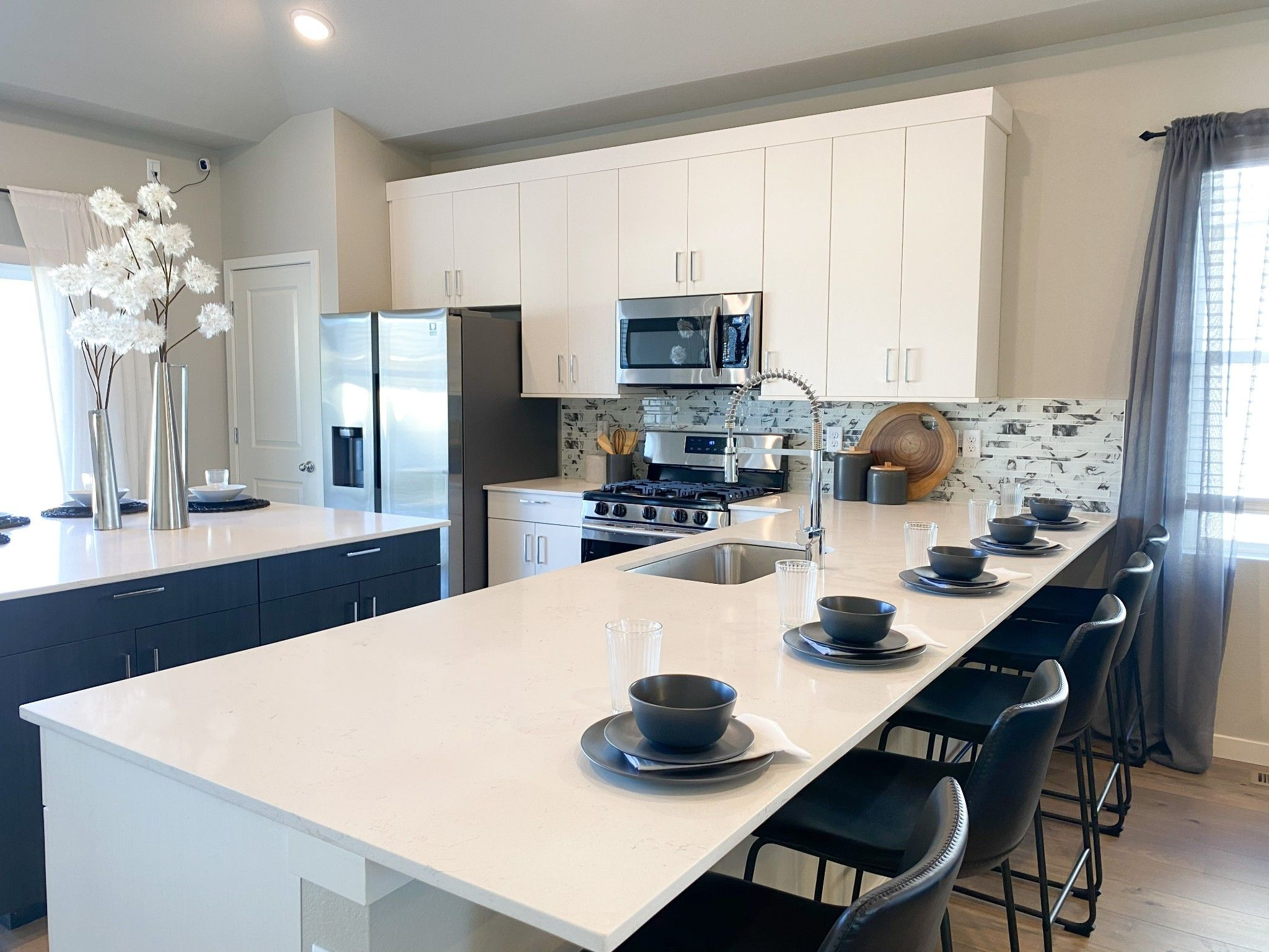 Kitchen featured in the Holly By Baessler Homes in Greeley, CO