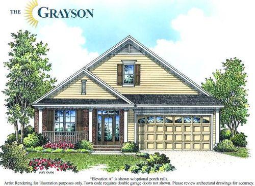 The Grayson - Classic-Design-at-Baileys Glen Active Adult-in-Cornelius