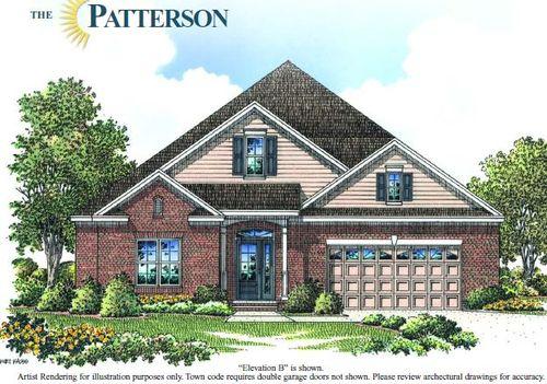 The Patterson - Premier-Design-at-Baileys Glen Active Adult-in-Cornelius