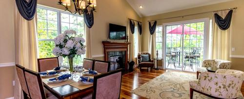 Greatroom-and-Dining-in-The Sherwood-at-High Pointe at Panther Valley-in-Hackettstown