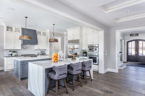 Kitchen-in-The Ashland - Chatham County-at-Providence at Yates Pond-in-Apex