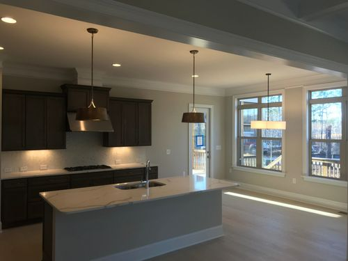 Kitchen-in-The Ashland - Wake County-at-Providence at Yates Pond-in-Apex