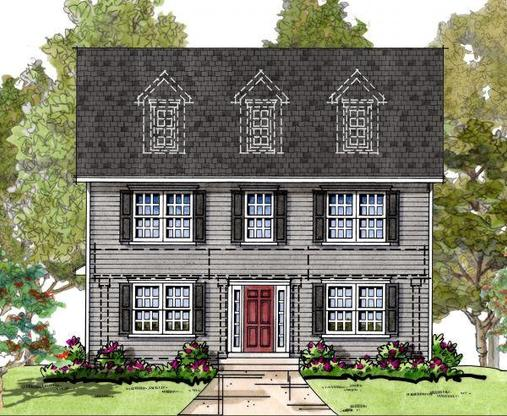 Blair:Elevation 1 Colonial