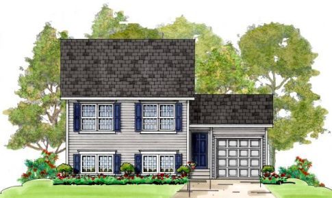 Howard:Elevation 1 Colonial