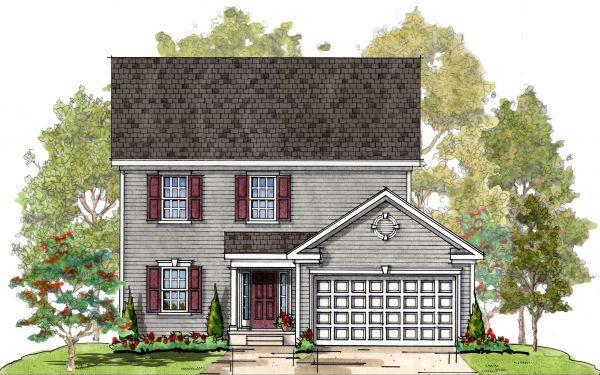Kendel FL:Elevation 1 Colonial
