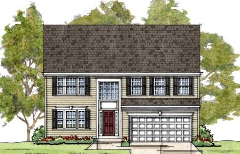 Westover:Elevation 1 Colonial