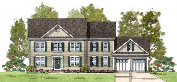 Charles Ridgely II:Colonial Elevation 1