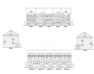 Townhome-End Unit - Ellendale Towns: Stevensville, Maryland - Baldwin Homes Inc.