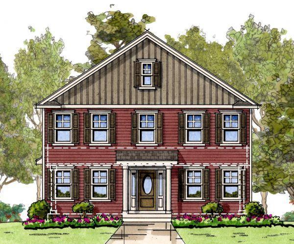 Exterior featured in the Blair By Baldwin Homes Inc. in Eastern Shore, MD