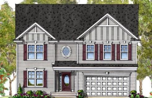 Exterior featured in the James By Baldwin Homes Inc. in Eastern Shore, MD