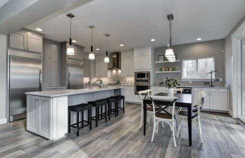 Kitchen featured in the Hogan By Baldwin Homes Inc. in Baltimore, MD