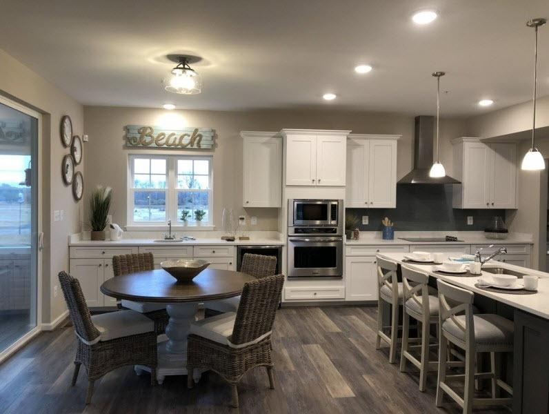 Kitchen featured in the Blair with English Basement By Baldwin Homes Inc. in Eastern Shore, MD
